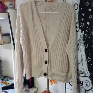 American Eagle Balloon Sleeve Cardigan